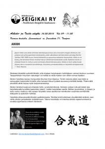 Aikido-Iaido näytös 20160514_aikido